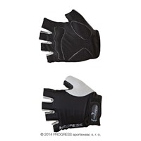 SIMPLE MITTS cycling half finger mitts black/grey