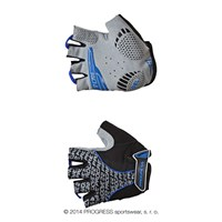 PULL MITTS cycling half finger mitts black/blue