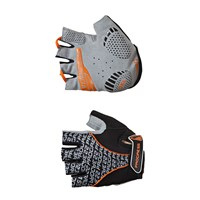 PULL MITTS cycling half finger mitts black/orange