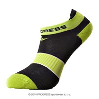SNAKER footie socks black/green
