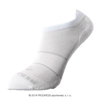 LOWLY footie socks white