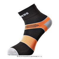 CYCLING socks black/orange
