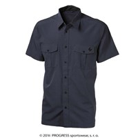PULSE mens bamboo shirt tiny grey checks