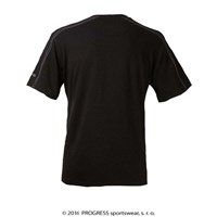 MENTOR mens bamboo T-shirt black
