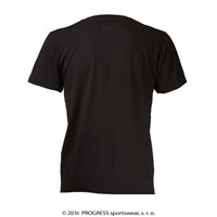 "BARBAR mens bamboo T-shirt black - ""climber"""