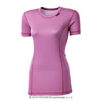 MS NKRZ ladies baselayer short sleeve T-shirt pink