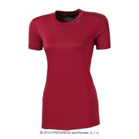MS NKRZ ladies baselayer short sleeve T-shirt red