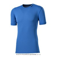 MS NKR mens baselayer short sleeve T-shirt Md.blue