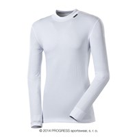 MS NDR mens baselayer long sleeve T-shirt white