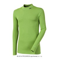 MS NDR mens baselayer long sleeve T-shirt green