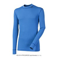 MS NDR mens baselayer long sleeve T-shirt Md.blue