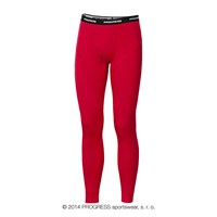 E SDN mens bamboo tights red