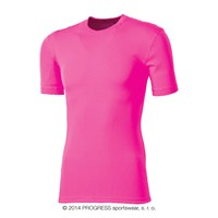 MS NKRD kids baselayer short sleeve T-shirt pink