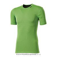 MS NKRD kids baselayer short sleeve T-shirt green