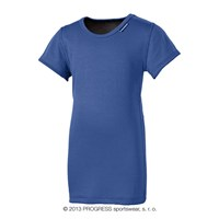 MS NKRD kids baselayer short sleeve T-shirt blue