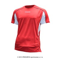 TESTER mens sports T-shirt red