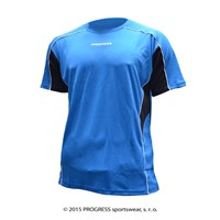 TESTER mens sports T-shirt blue