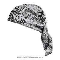 "SAT PRINT fully printed headscarf triangle ""LOVE"" design"
