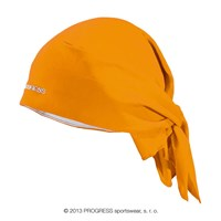 SAT headscarf triangle orange