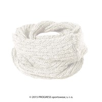 LINA ladies knitted shawl white