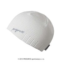 CLEA ladies knitted beanie white