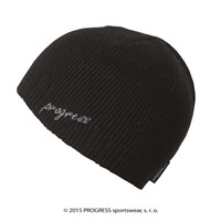 CLEA ladies knitted beanie black
