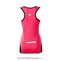 STELLA ladies cycling singlet pink
