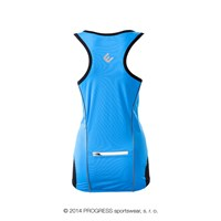 STELLA ladies cycling singlet blue