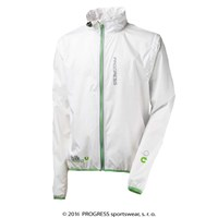 AERO BIKING lightweight jacket white