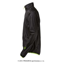 AERO BIKING lightweight jacket black