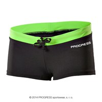 MARINA ladies swim panties black/Lt.green