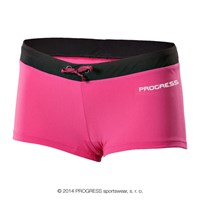 MARINA ladies swim panties pink/black