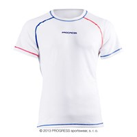CZECH REPUBLIC mens short sleeve T-shirt white