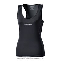DINA ladies baselayer singlet black