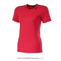 ML NKRZ ladies baselayer short sleeve T-shirt red