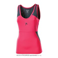 ARCO ladies singlet pink/grey