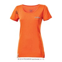 LHASA ladies short sleeve T-shirt terracotta