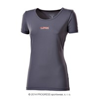 METEORA ladies short sleeve T-shirt grey