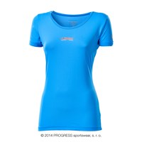 METEORA ladies short sleeve T-shirt blue