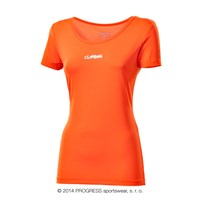 METEORA ladies short sleeve T-shirt terracotta