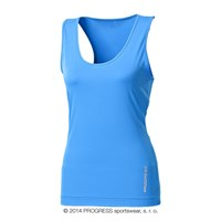 NENA ladies training singlet blue