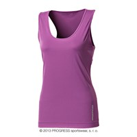 NENA ladies training singlet purple