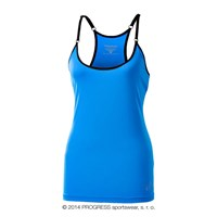 TAYRA ladies training singlet blue