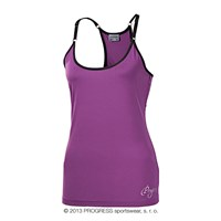 TAYRA ladies training singlet purple