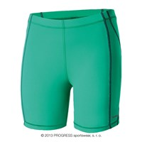 CORSA SHORTS ladies running shorts green/grey sew.