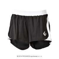 ALFA ladies running shorts black/white