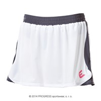 TR BETA 23TV ladies training skirt white/grey