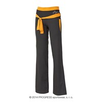VIKTORIE ladies training pants black/orange