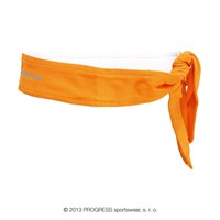 CEL headband tie-back orange