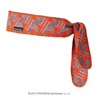 "CEL PRINT fully printed headband tie-back ""AAA"" design"
